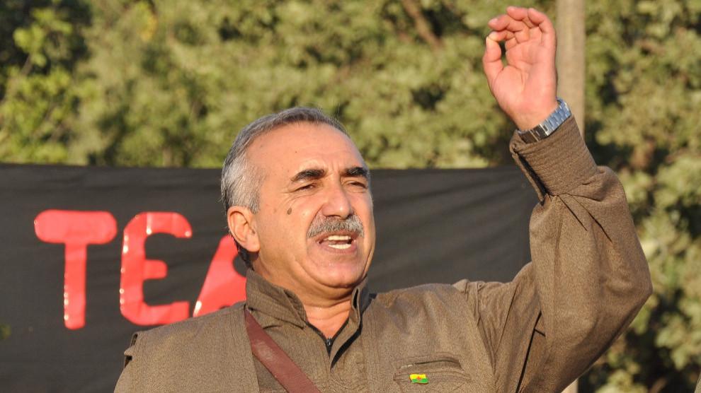 PKK's Karayılan: We base on Öcalan's orders and instructions