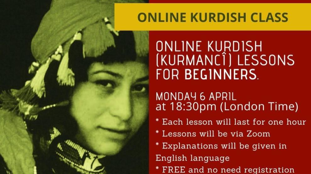 Kurdish classes online to begin this evening