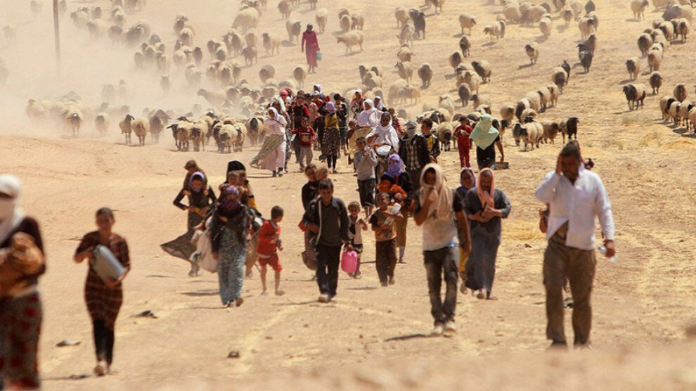 The Yazidi community in Shengal faced genocide in 2014